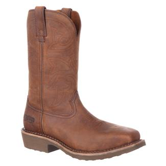 """Durango 12"""" Farm and Ranch Square Toe ST Soggy Brown"""