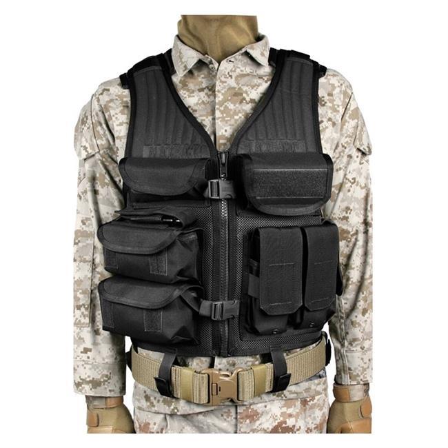 Blackhawk Omega Elite Tactical Vest EOD Black