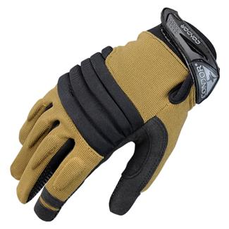 Condor Stryker Padded Knuckle Gloves Tan