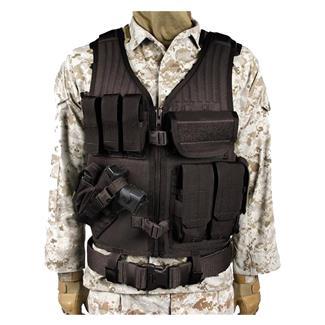 Blackhawk Omega Elite Vest Cross Draw Black