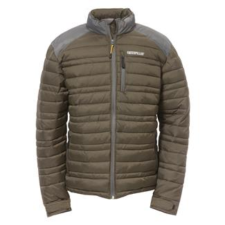 CAT Defender Insulated Jacket Army Moss