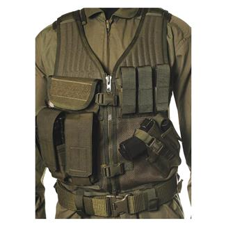 Blackhawk Omega Elite Vest Cross Draw Olive Drab