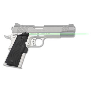Crimson Trace LG-919G Master Series Lasergrips Black Green