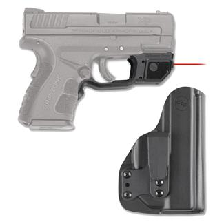 Crimson Trace LG-496-HBT Laserguard with IWB Holster Red Black