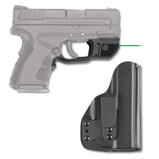Crimson Trace LG-496G-HBT Laserguard with IWB Holster Black Green