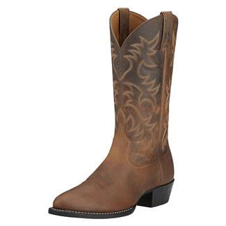 "Ariat 13"" Heritage Western R Toe Distressed Brown"