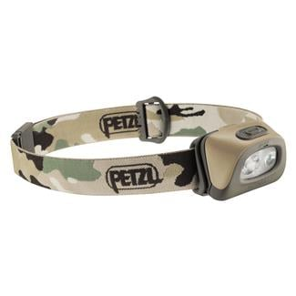 Petzl Tactikka Plus Headlamp Camouflage White / Red
