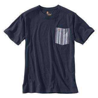 Carhartt Maddock Novelty Pocket T-Shirt Navy