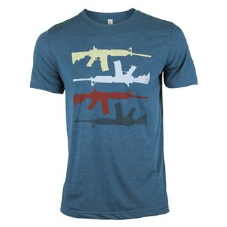 TG Retro AR T-shirt Steel Blue