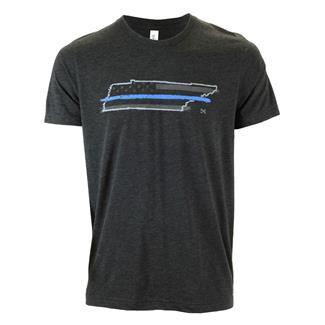 TG TBL Tennessee T-Shirt Charcoal Black