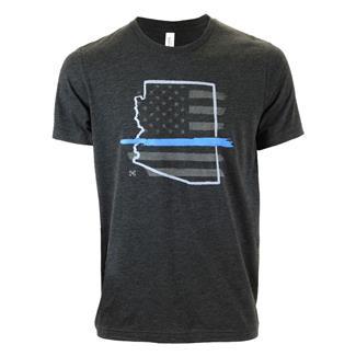 TG TBL Arizona T-Shirt Charcoal Black
