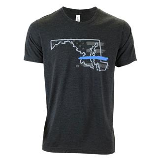 TG TBL Maryland T-Shirt Charcoal Black