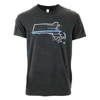 TG TBL Massachusetts T-Shirt Charcoal Black