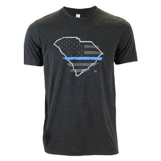TG TBL South Carolina T-Shirt Charcoal Black