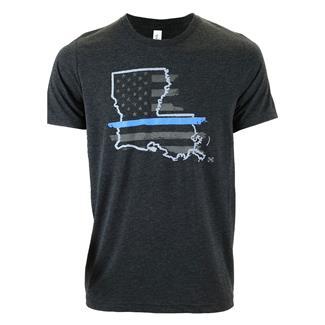 TG TBL Louisiana T-Shirt Charcoal Black