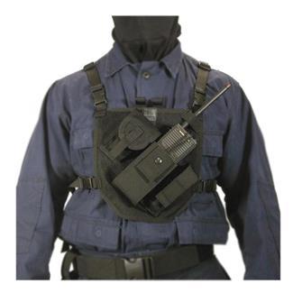 Blackhawk Patrol Radio Chest Harness Black