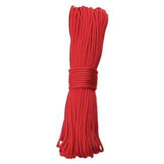 5ive Star Gear 550 LB Paracord - 100ft Red