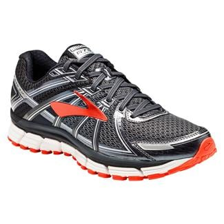 Brooks Adrenaline GTS 17 Black / Anthracite / Red Orange