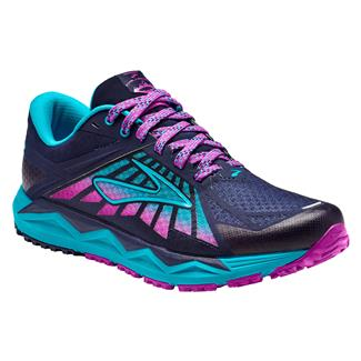Brooks Caldera Evening Blue / Teal Victory / Purple Cactus Flower