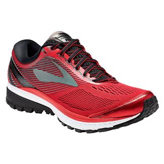 Brooks Ghost 10 Toreador / Black / Metallic Charcoal