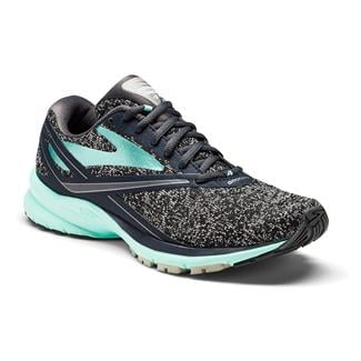 Brooks Launch 4 Anthracite / Beach Glass / Silver