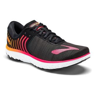 Brooks PureFlow 6 Black / Diva Pink / Orange Pop