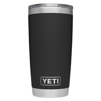 YETI Rambler 20 oz. Tumbler with Lid Black