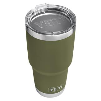 YETI Rambler 30 oz. Tumbler with Lid Olive Green