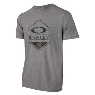 Oakley Camo Hex T-Shirt Athletic Heather Gray