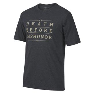 Oakley Death Before Dishonor T-Shirt Blackout Light Heather