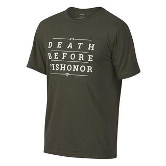 Oakley Death Before Dishonor T-Shirt Dark Brush Dark Heather