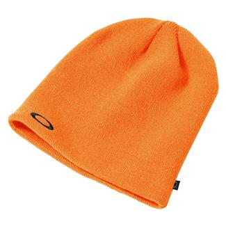 Oakley Fine Knit Beanie Neon Orange