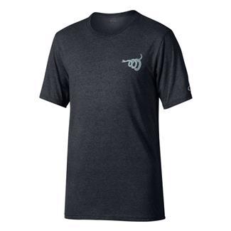 Oakley Gadsden T-Shirt Blackout Light Heather