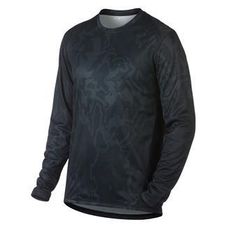 Oakley Long Sleeve Base T-Shirt Blackout Topo Map