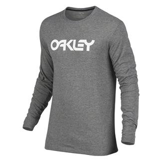 Oakley Mark II Long Sleeve T-Shirt Athletic Heather Gray