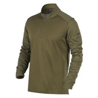 Oakley Range 1/4 Zip Pullover Dark Brush