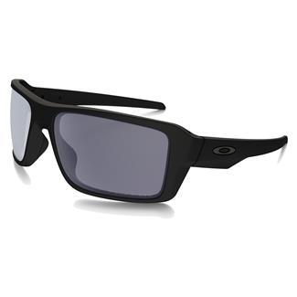 Oakley SI Double Edge Matte Black (frame) - Gray Polarized (lens)