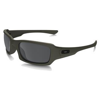 Oakley SI Fives Squared Cerakote Mil Spec Green (frame) - Black Iridium (lens)