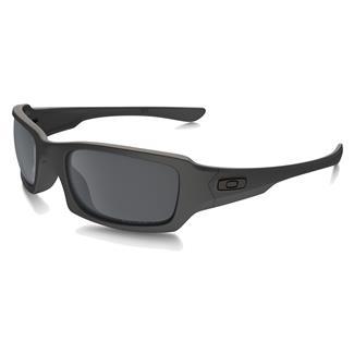 Oakley SI Fives Squared Cerakote Cobalt (frame) - Black Iridium Polarized (lens)