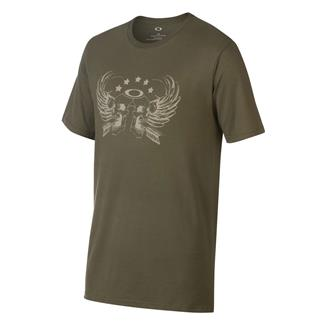 Oakley Skull Wings T-Shirt Dark Brush