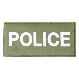 Blackhawk Police Patch White on Green