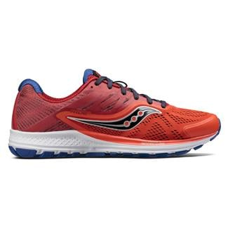 Saucony Ride 10 Orange / Red / Navy