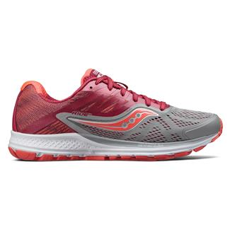 Saucony Ride 10 Gray / Berry