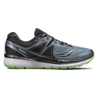 Saucony Triumph Iso 3 Gray / Black / Slime