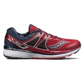 Saucony Triumph Iso 3 Red / Navy