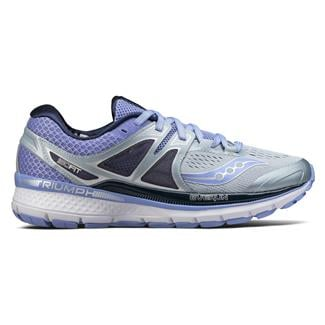 Saucony Triumph Iso 3 Gray / Purple