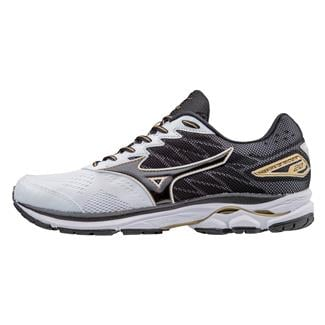 Mizuno Wave Rider 20 White / Black / Gold