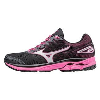 Mizuno Wave Rider 20 Black / White / Pink Glo