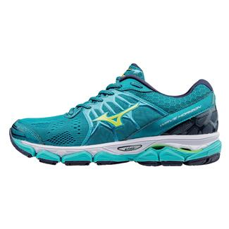 Mizuno Wave Horizon Tile Blue / Safety Yellow / Peacoat