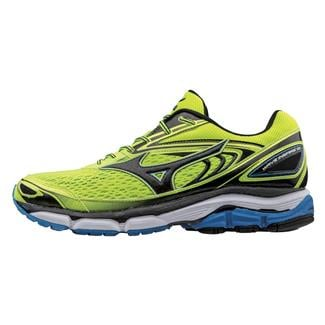 Mizuno Wave Inspire 13 Safety Yellow / Black / Directoire Blue
